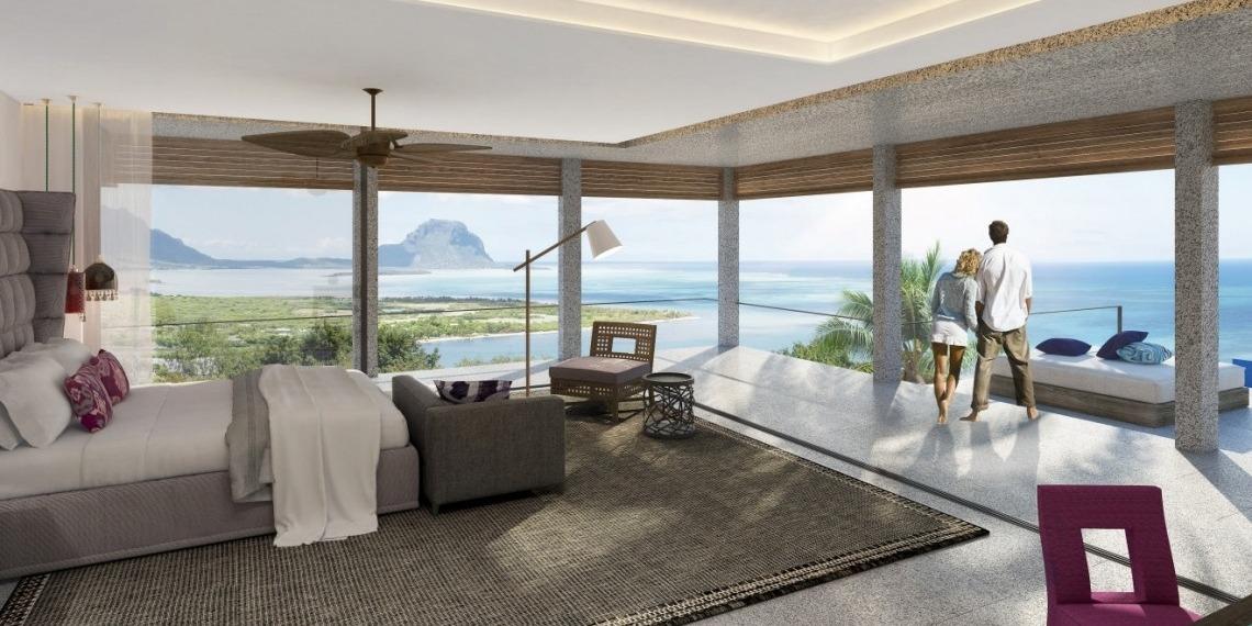 Villas de luxe vue mer Marguery Heights à l'Ile Maurice
