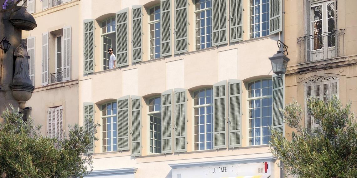 Appartements Aix-en-Provence rue d'Italie déficit foncier