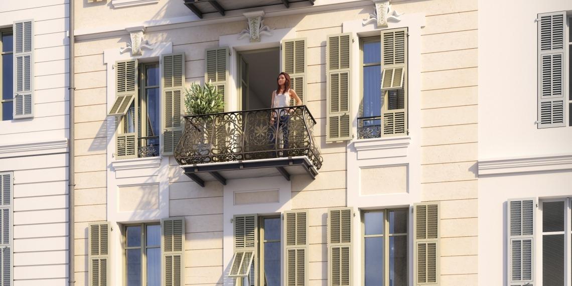Appartements Nice rue Lafayette déficit foncier