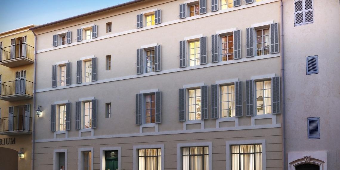 Appartements Aix-en-Provence Les Hauts de Mirabeau loi Malraux